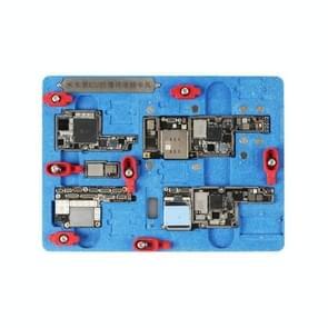 Mijing K20 multifunctionele explosieveilige Tin moederbord reparatie meubilair voor iPhone X / XS / XS Max