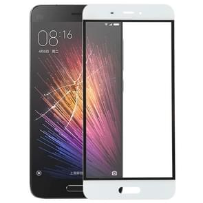 Front Screen Outer Glass Lens for Xiaomi Mi 5(White)