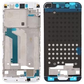 Front behuizing LCD-frame bezel plaat voor Xiaomi mi 5c (wit)