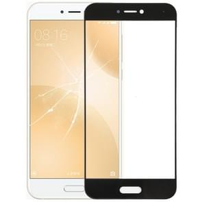 Front Screen Outer Glass Lens for Xiaomi Mi 5c(Black)