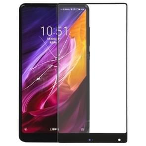 Front Screen Outer Glass Lens for Xiaomi Mi Mix(Black)