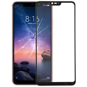 Front Screen Outer Glass Lens for Xiaomi Redmi Note 6(Black)