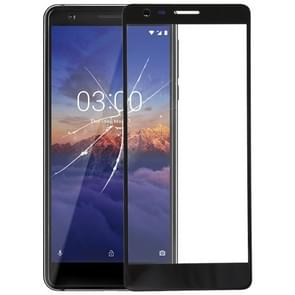 Front Screen Outer Glass Lens for Nokia 3.1(Black)