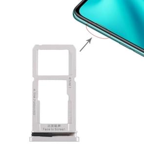 SIM Card Tray + SIM Card Tray / Micro SD Card Tray for OPPO R15(Silver)