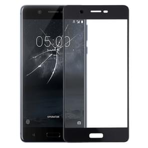 Front Screen Outer Glass Lens for Nokia 5 TA-1024 TA-1027 TA-1044 TA-1053(Black)