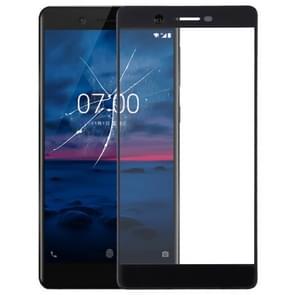 De Lens van het buitenste glas van de voorste scherm voor Nokia 7(Black)