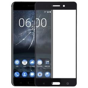 Front Screen Outer Glass Lens for Nokia 6 TA-1000 TA-1003 TA-1021 TA-1025 TA-1033 TA-1039(Black)