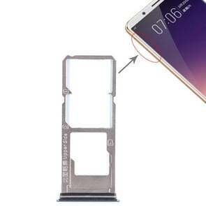 2 x SIM Card Tray + Micro SD Card Tray for Vivo Y79(Blue)