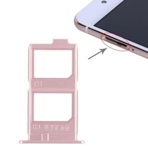2 x SIM Card Tray for Vivo X7 Plus(Rose Gold)