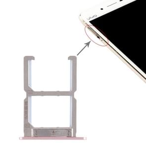 2 x SIM Card Tray for Vivo X6S(Rose Gold)