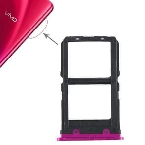 2 x SIM Card Tray for Vivo X23(Rose Red)