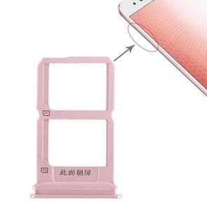 2 x SIM Card Tray for Vivo X9s Plus(Rose Gold)