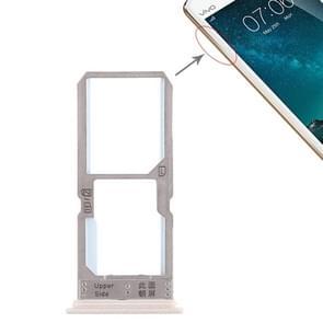 SIM Card Tray + SIM Card Tray / Micro SD Card Tray for Vivo Y67 (Gold)