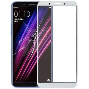 Front Screen Outer Glass Lens for OPPO A1 (White)