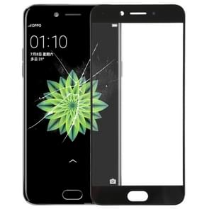 Front Screen Outer Glass Lens for OPPO A77 (Black)