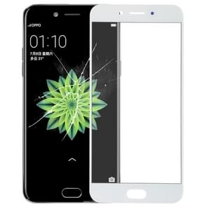 Front Screen Outer Glass Lens for OPPO A77 / A77T(White)