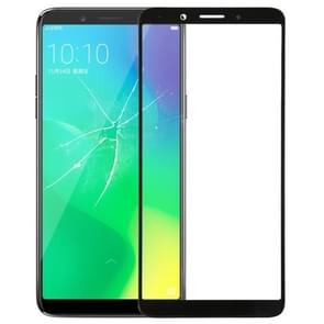 Front Screen Outer Glass Lens for OPPO A79 (Black)