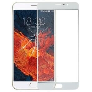 Voorste scherm buitenste glaslens voor Meizu Pro 6 Plus(White)