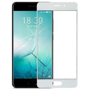 Front Screen Outer Glass Lens for Meizu PRO 7(White)