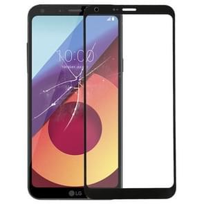 Voorste scherm buitenste glaslens voor LG Q6(Black)