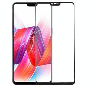 Front Screen Outer Glass Lens for OPPO R15 (Black)