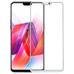 Front Screen Outer Glass Lens for OPPO R15 (White)