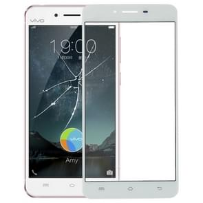 Front Screen Outer Glass Lens for Vivo X6 Plus(White)
