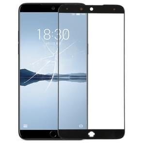 Front Screen Outer Glass Lens for Meizu 15(Black)