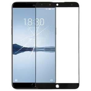Front Screen Outer Glass Lens for Meizu 15 Plus(Black)