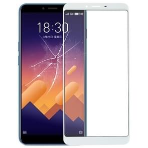 Front Screen Outer Glass Lens for Meizu E3(White)