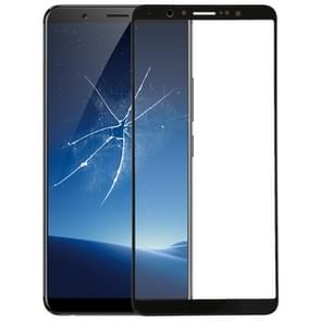 Front Screen Outer Glass Lens for Vivo X20(Black)