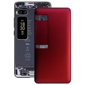 Batterij achtercover voor Meizu PRO 7 (rood)