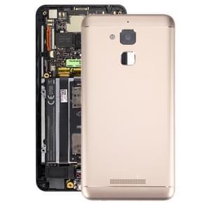 iPartsBuy for ASUS ZenFone 3 Max / ZC520TL Aluminium Alloy Back Battery Cover(Gold)