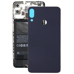 Frosted Battery back cover voor Tecno Camon 11 (zwart)