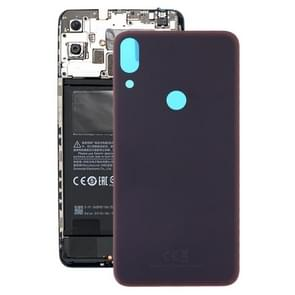 Frosted Battery Back Cover for Tecno Pphantom X / AA7(Black)