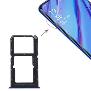 SIM Card Tray + SIM Card / Micro SD Card for OPPO A9 (Green)
