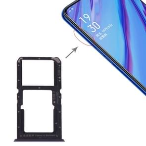 SIM Card Tray + SIM Card / Micro SD Card for OPPO A9 (Blue)