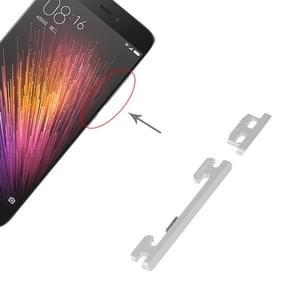 Aan/uit-knop en volume knop voor Xiaomi MI 5 (zilver)