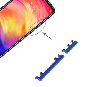 Power Button and Volume Control Button for Xiaomi Redmi Note 7 Pro / Redmi Note 7 (Blue)