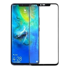 Front Screen Outer Glass Lens for Huawei Mate 20 Pro (Black)