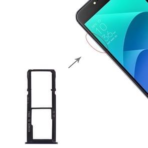 SIM Card Tray + SIM Card Tray + Micro SD Card Tray for Asus Zenfone 4 Selfie ZD553KL / ZB553KL (Dark Blue)