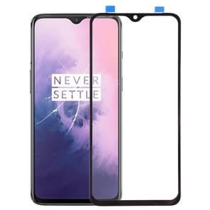 Front Screen Outer Glass Lens for OnePlus 7 (Black)