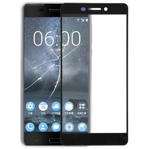 Voorste scherm buitenste glaslens voor Nokia 6 (2de Gen)(Black)