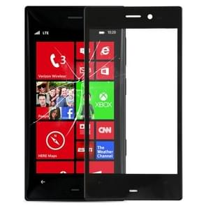 Front Screen Outer Glass Lens for Nokia Lumia 928(Black)