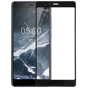 Front Screen Outer Glass Lens for Nokia 5.1 TA 1024 1027 1044 1053 1008 1030 1109(Black)