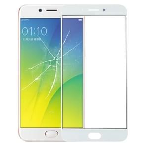 Front Screen Outer Glass Lens for OPPO R9s Plus(White)