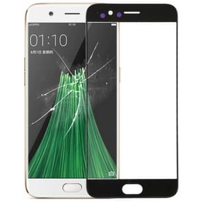 Front Screen Outer Glass Lens for OPPO R11 (Black)