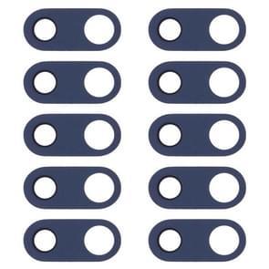 10 PCS Back Camera Lens for LG V30 H930 H933 (Blue)