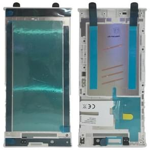 Front behuizing LCD-frame bezel voor Sony Xperia L1 (wit)