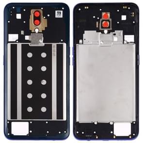 Middle Frame Bezel Plate for OPPO A9 (Blue)